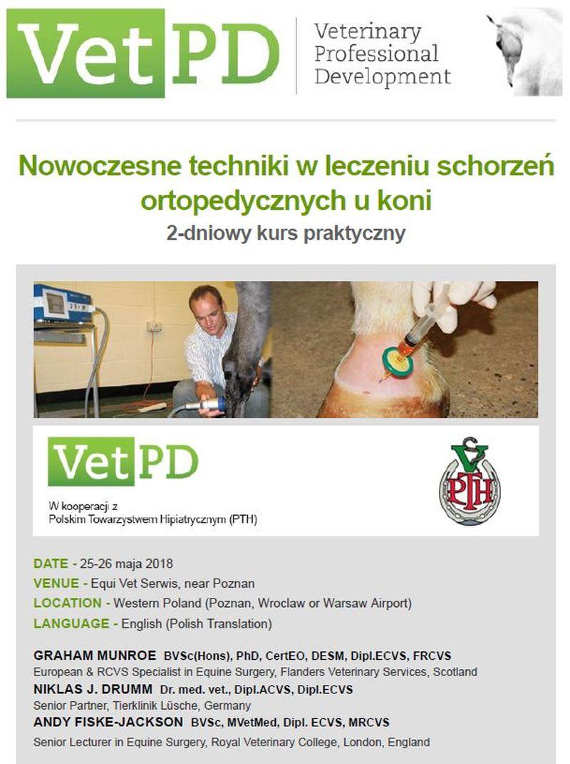 Program majowego szkolenia VetPD